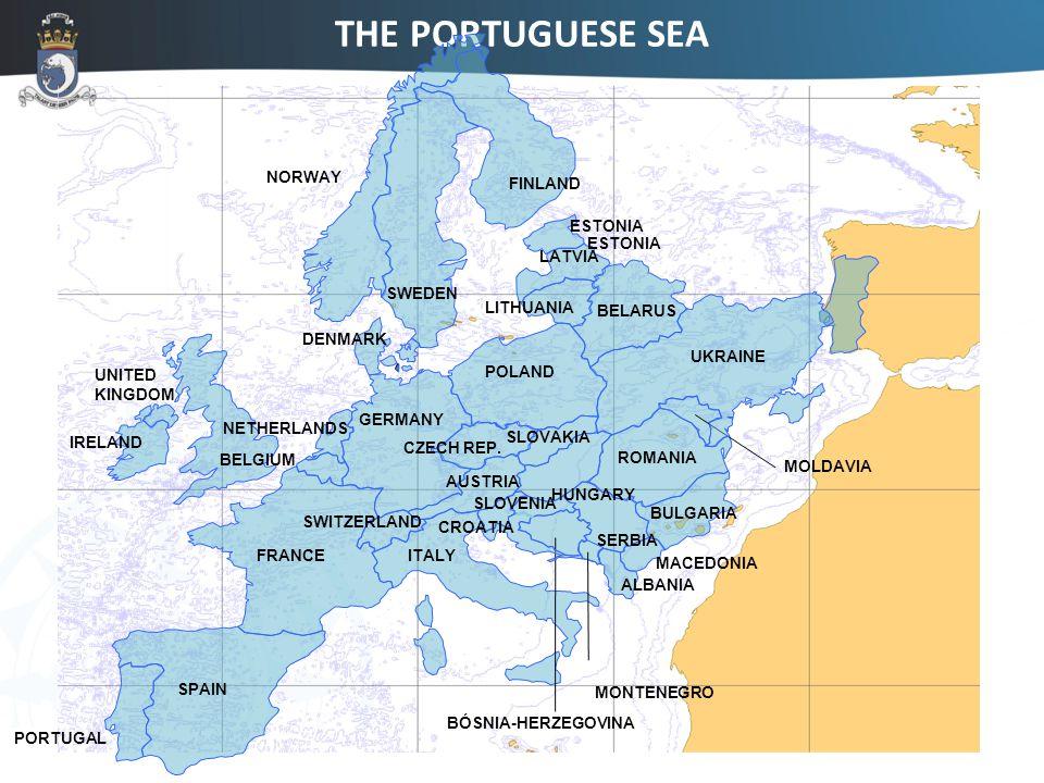 THE PORTUGUESE SEA ESTONIA LATVIA LITHUANIA BELARUS ROMANIA MOLDAVIA ALBANIA BULGARIA MACEDONIA PORTUGAL SPAIN FRANCE GERMANY SWITZERLAND AUSTRIA BELGIUM NETHERLANDS SLOVENIA IRELAND POLAND UNITED KINGDOM DENMARK CZECH REP.