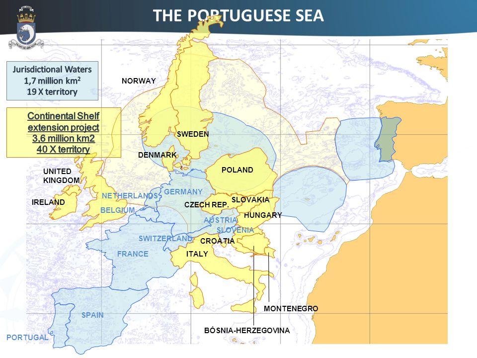 PORTUGAL SPAIN FRANCE GERMANY SWITZERLAND AUSTRIA IRELAND POLAND UNITED KINGDOM DENMARK CZECH REP.
