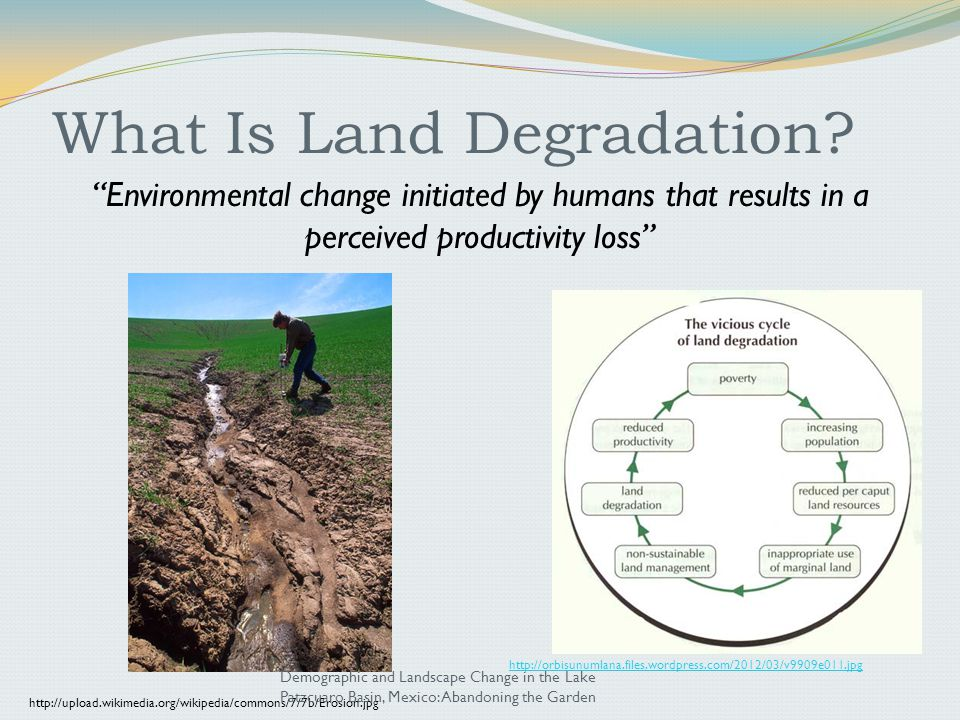 What Is Land Degradation.