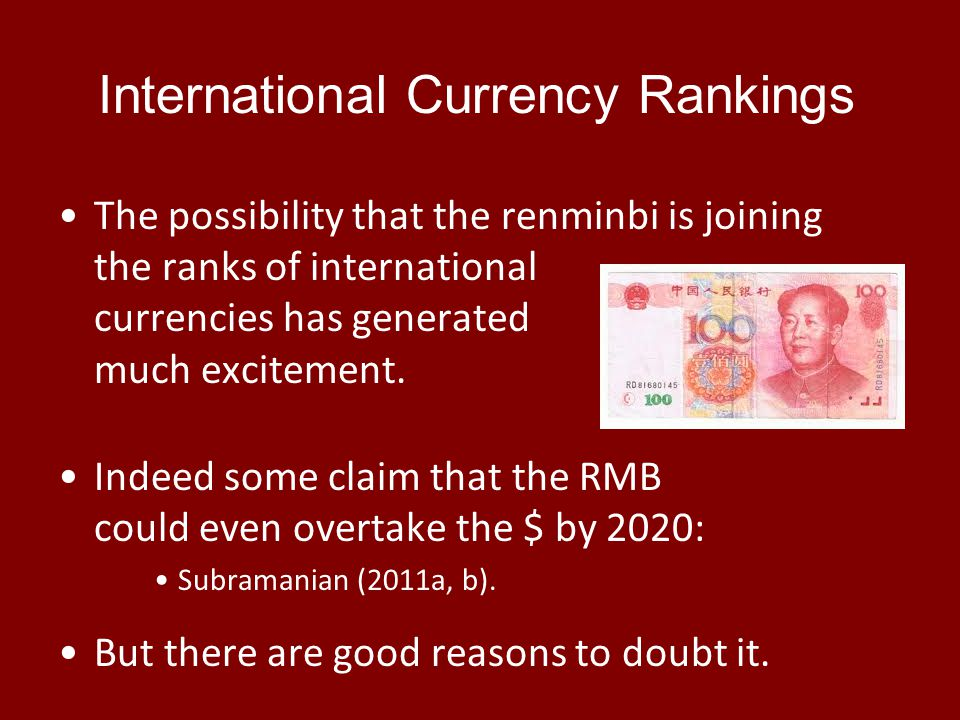 RMB has risen… to 9 th place in FX trading 40