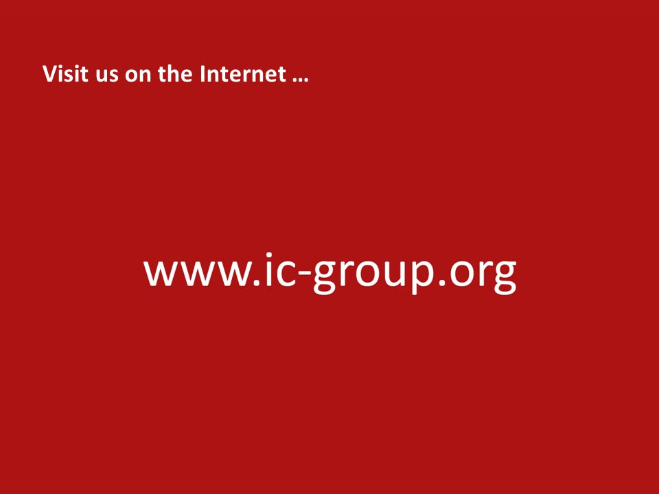 Visit us on the Internet …