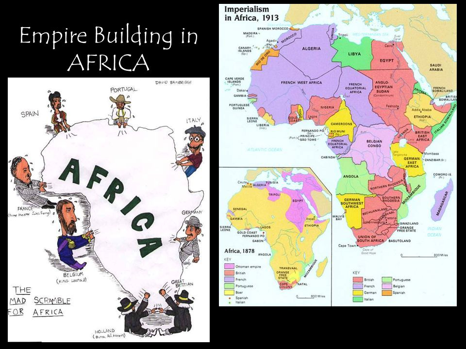 Empire Building in AFRICA