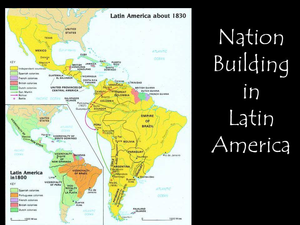 Nation Building in Latin America