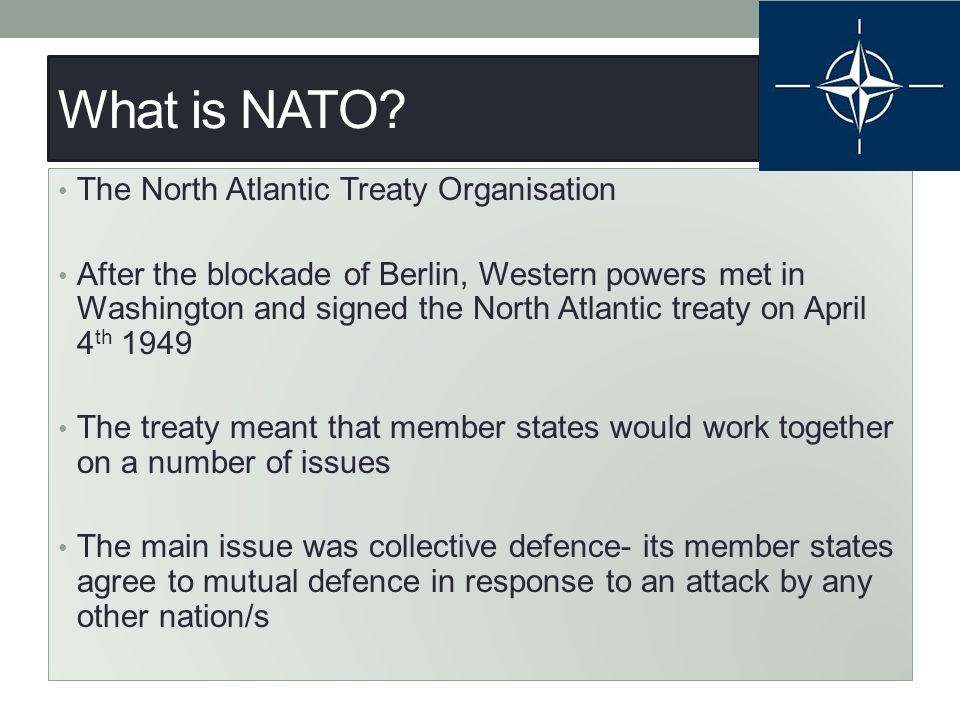 Task Using the sources on P333, answer the following question: What evidence is there in sources 37- 41 to indicate that NATO was a purely defensive alliance?