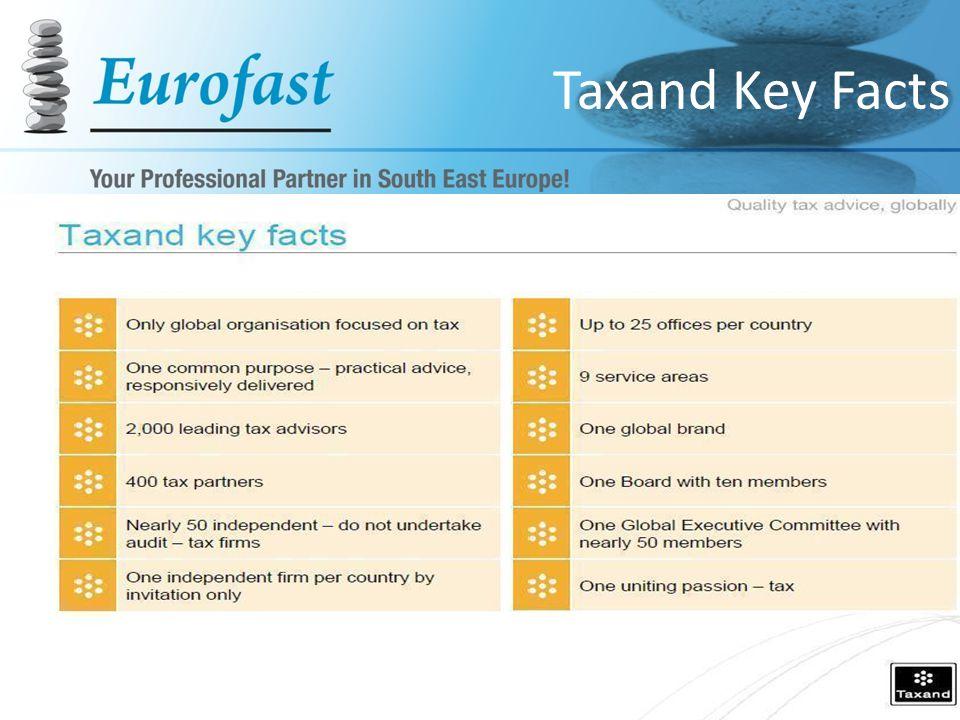 Taxand Key Facts