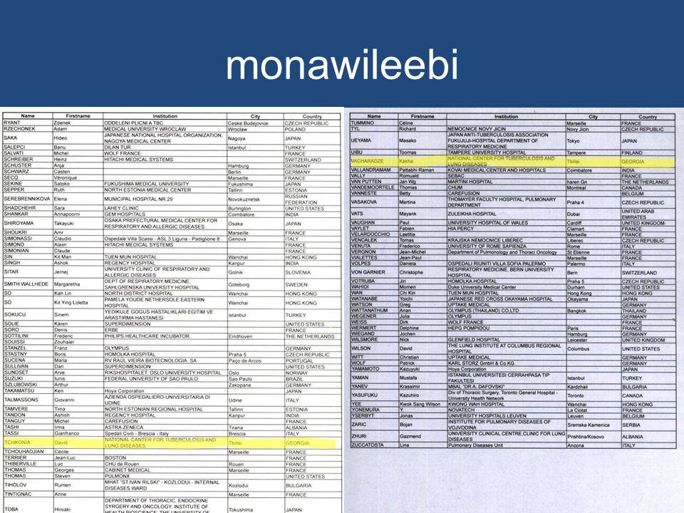 monawileebi