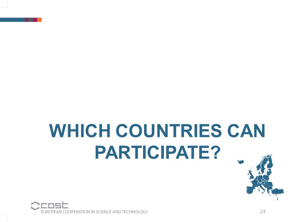 24 WHICH COUNTRIES CAN PARTICIPATE