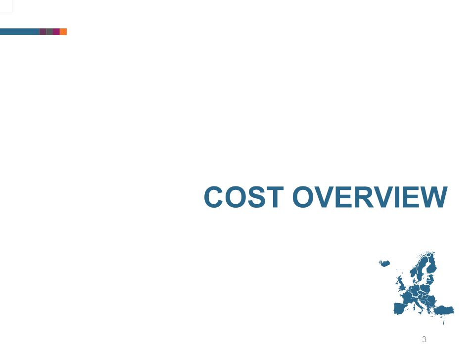 3 COST OVERVIEW