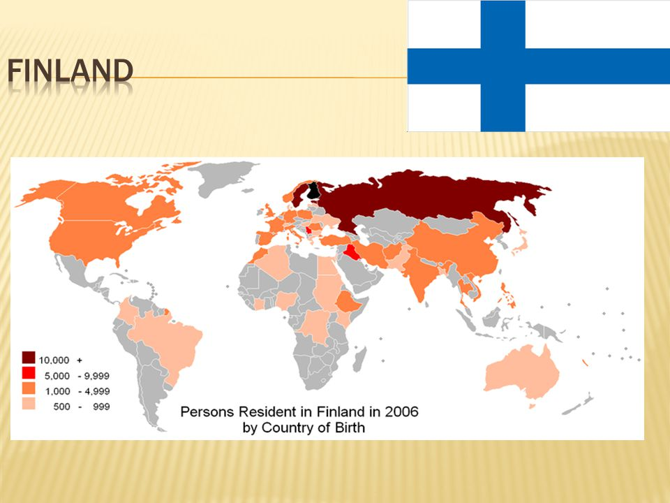 Since 1997 immigration into Finland from other EU countries has been growing continuously.