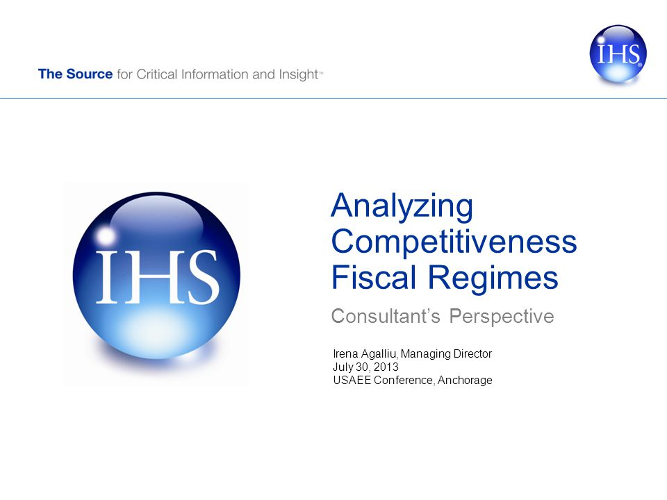© 2013 IHS Composite Index 12