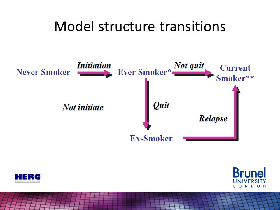 Model structure transitions