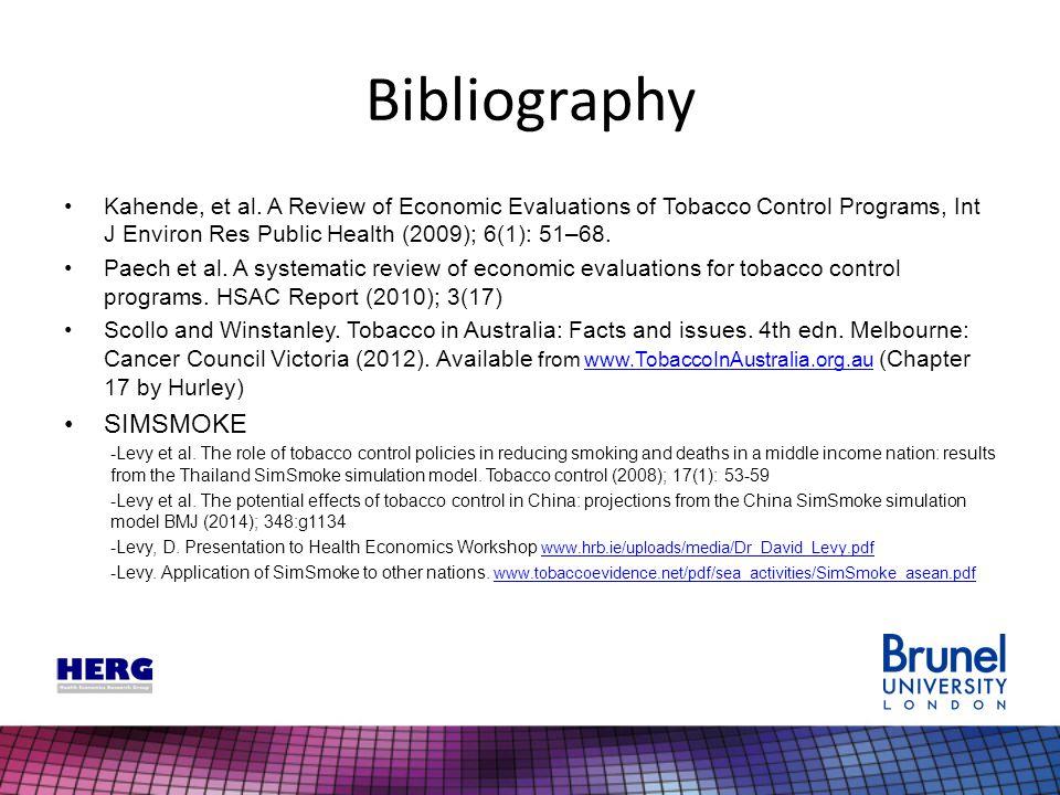 Bibliography Kahende, et al.