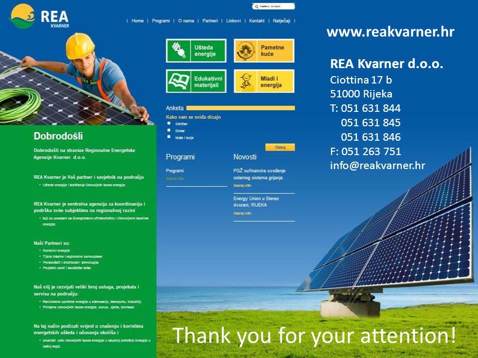 www.reakvarner.hr REA Kvarner d.o.o. M.
