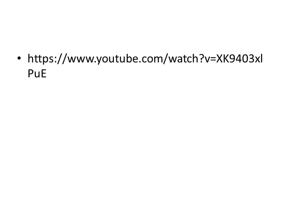 https://www.youtube.com/watch?v=XK9403xl PuE