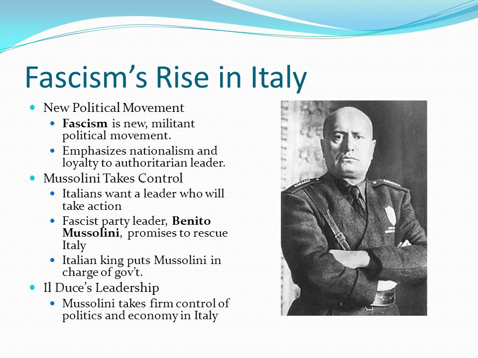 Hitler Rises to Power in Germany A New Power Adolf Hitler-little known political figure in 1920s Germany The Rise of the Nazis Nazism-German brand of fascism Hitler becomes Nazi leader, plots to seize national power Mein Kampf-Hitler's book detailing beliefs, goals Hitler believes that Germany needs lebensraum, or living space Germans turn to Hitler when economy collapses