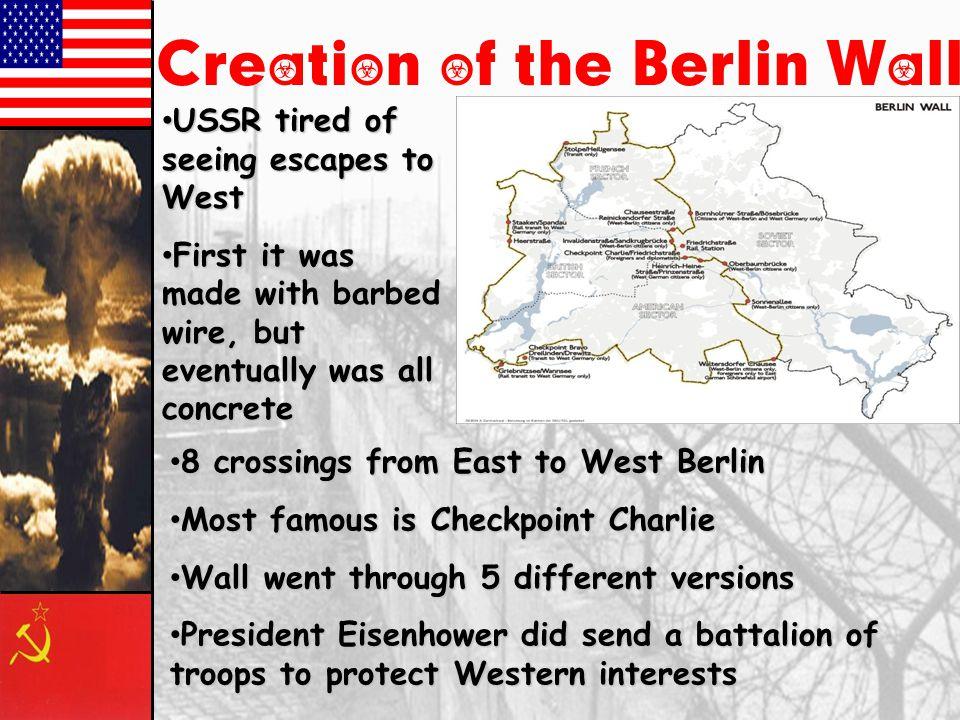 Paris, 1961 Khrushchev & JFK meet to discuss Berlin and nuclear proliferation.