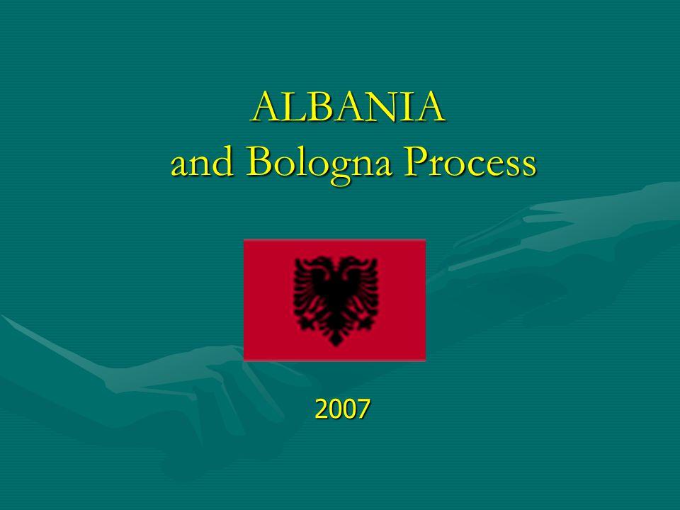 ALBANIA and Bologna Process 2007