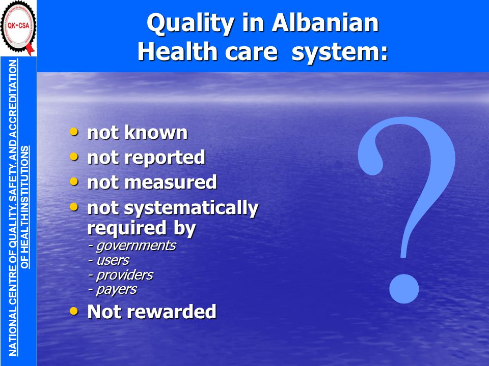 A legitimate request from the Minister of Health I expect from you the truth and nothing but the truth.