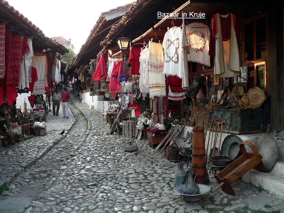Bazaar in Kruje