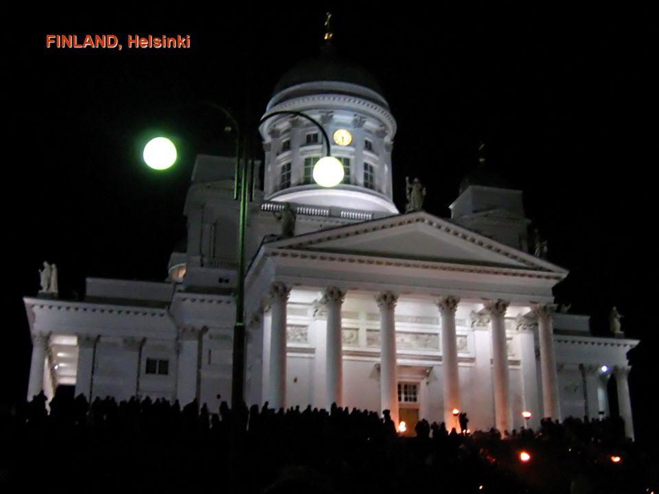 FINLAND, Helsinki