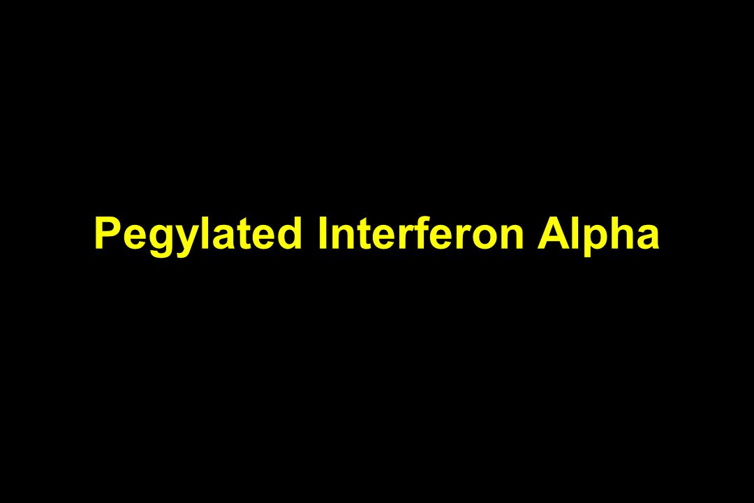 Pegylated Interferon Alpha