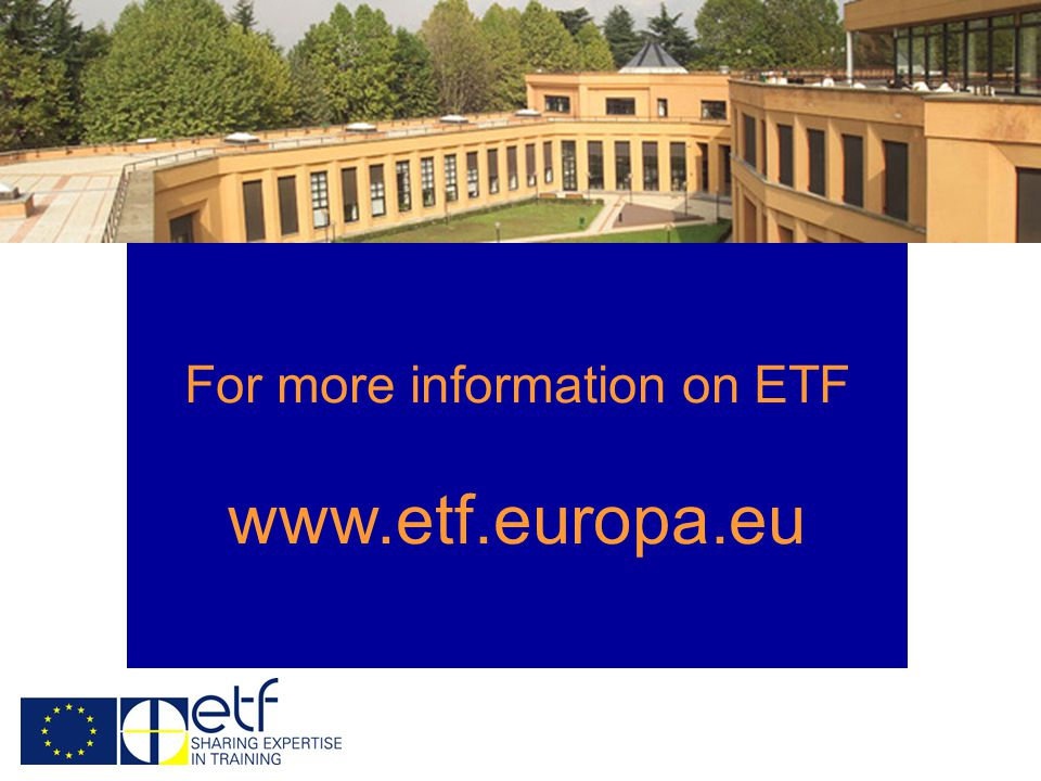 For more information on ETF