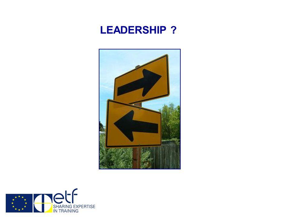 LEADERSHIP ?