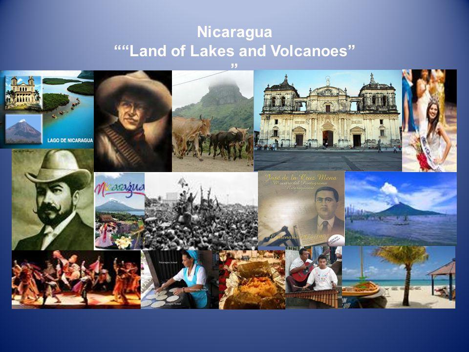 General Facts Country: Nicaragua Capital: Managua Population: 5.465.100 (2005 Est.) Area: 129.494 km 2 (7.7% water) Politic Distribution: 15 departaments 2 Autonomous Regions.