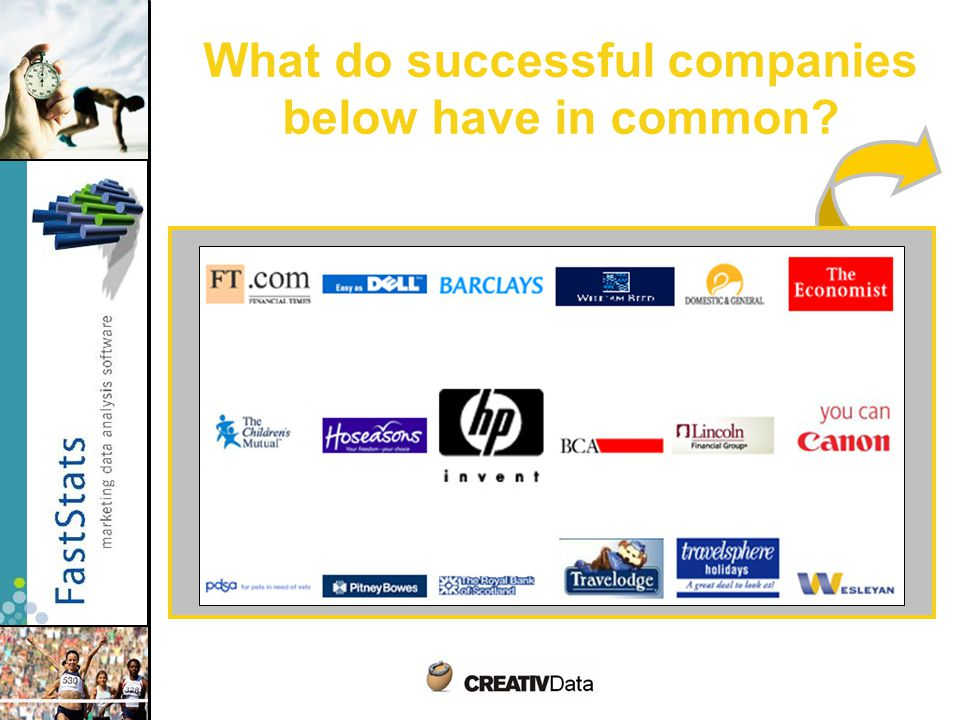 What do successful companies below have in common