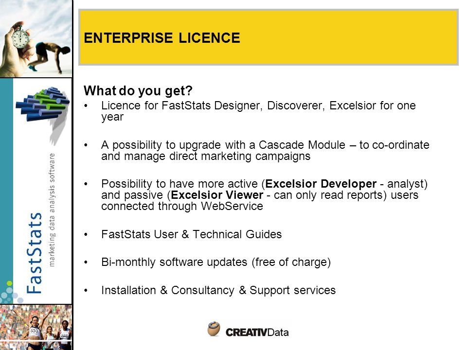 ENTERPRISE LICENCE What do you get.