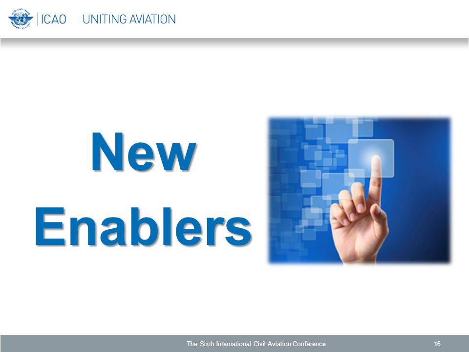 NewEnablers The Sixth International Civil Aviation Conference16