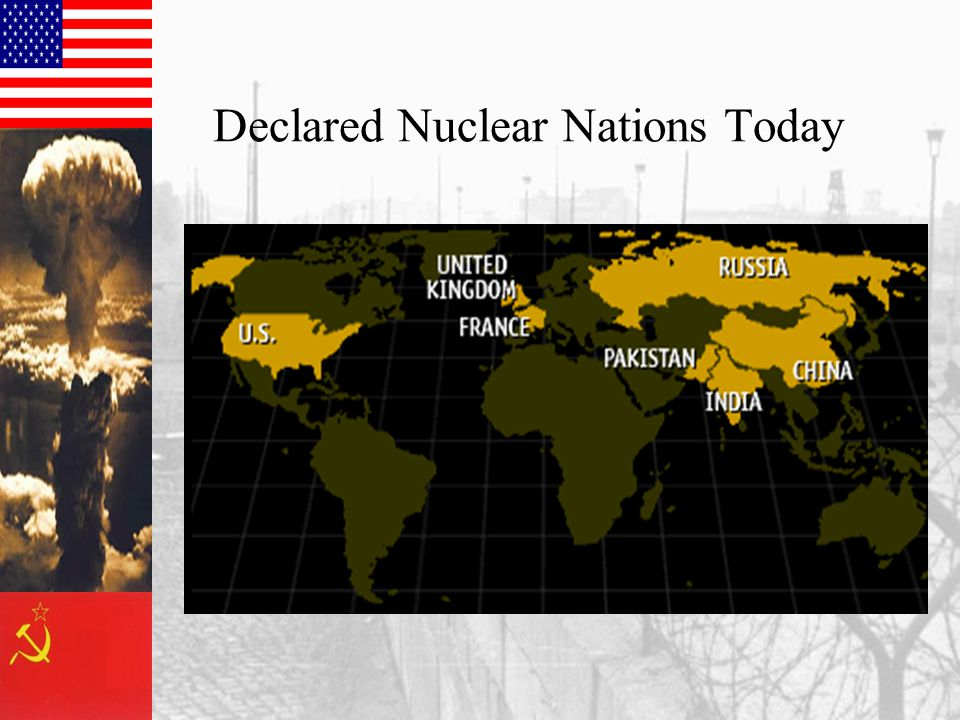Declared Nuclear Nations Today