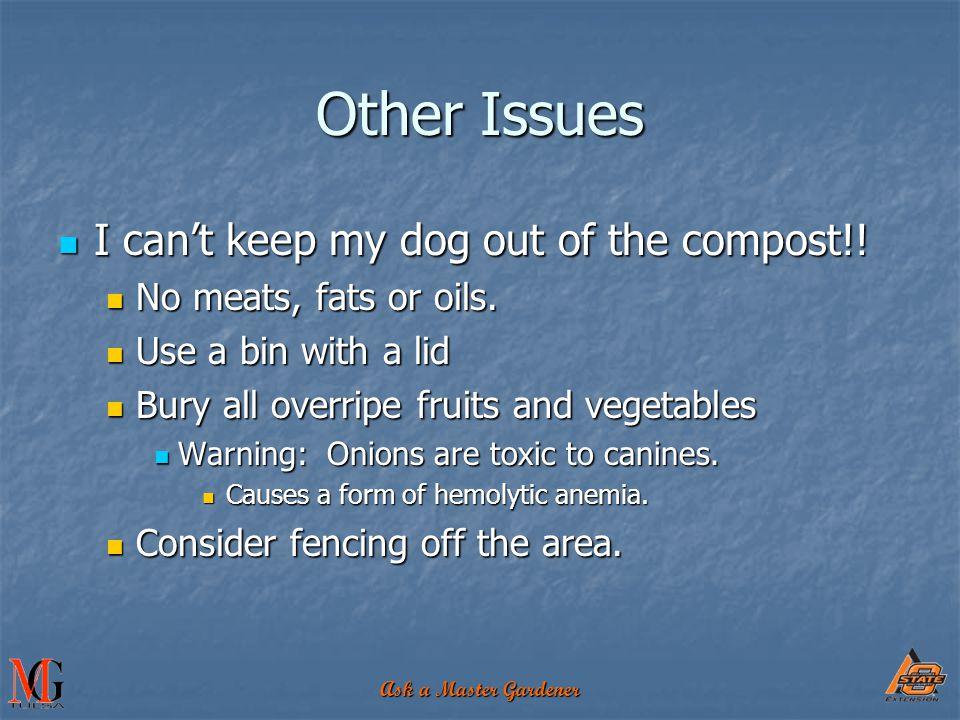 Ask a Master Gardener RESOURCES Composting Leaf Composting, Recycling Yard Waste: Don't Bag It , OSU Extension Service brochure L-252 http://pods.dasnr.okstate.edu/docushare/dsweb/Get/Document-2865/L- 252.pdf http://pods.dasnr.okstate.edu/docushare/dsweb/Get/Document-2865/L- 252.pdf Backyard Composting in Oklahoma.