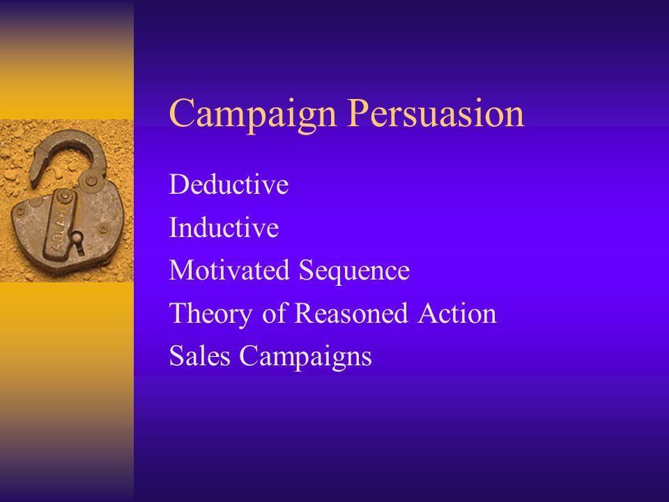 Sales Campaigns No trust No need