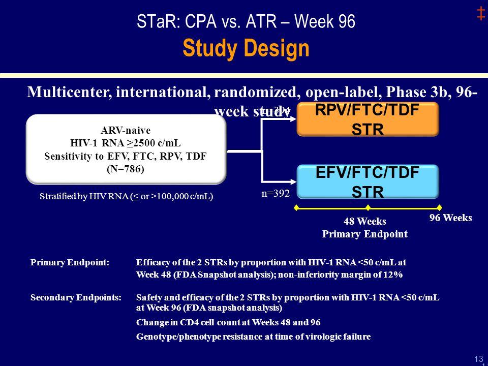 ‡ 13 STaR: CPA vs.