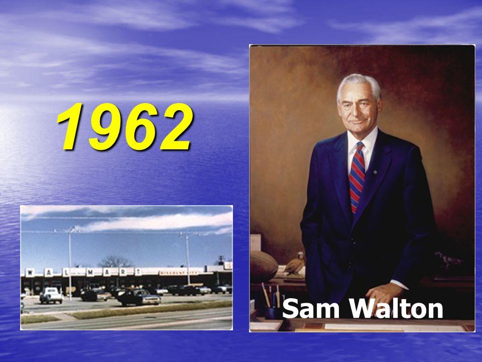 1962 Sam Walton