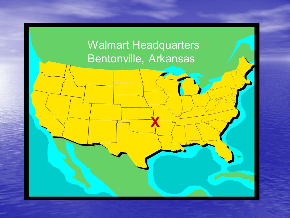X Walmart Headquarters Bentonville, Arkansas