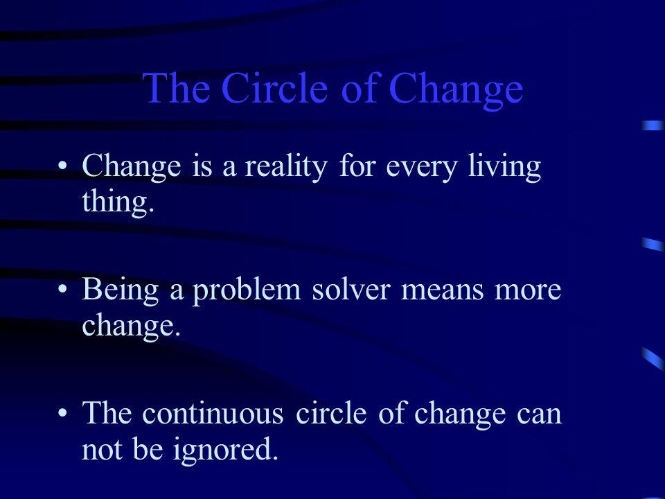 Circle of Change Change Present Solution Problem