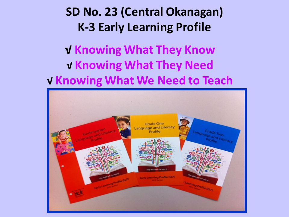 Our Commitment is to…. Know Each Child To Teach Each Child