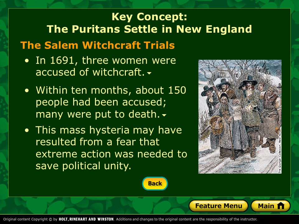 Because political authority was based on religious tenets, the political views of Puritans were sometimes uncompromising and harsh.uncompromising and