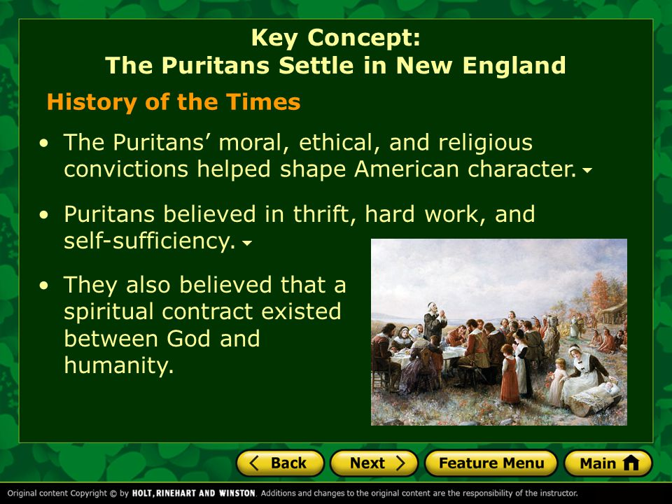 Comprehension Check What interactions took place between European settlers and Native Americans? Key Concept: Native Cultures Thrive in America [End o