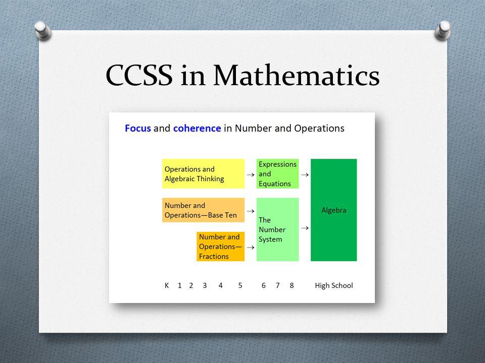 CCSS in Mathematics