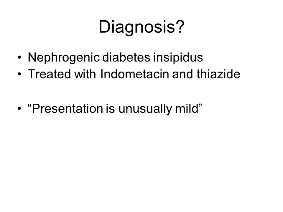 Diagnosis.