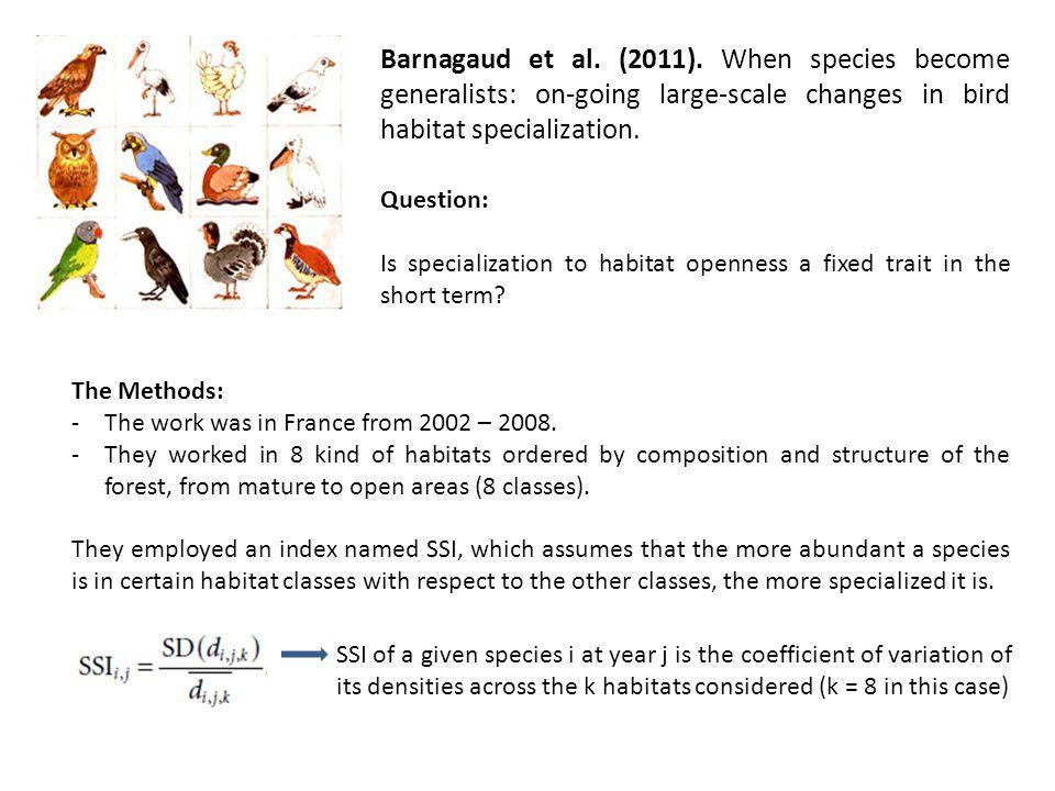Barnagaud et al. (2011).