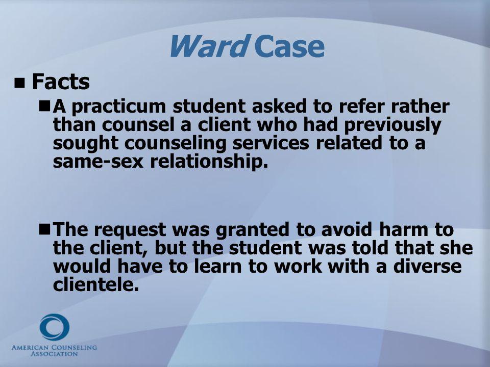 Ward v.Wilbanks & Keeton v.