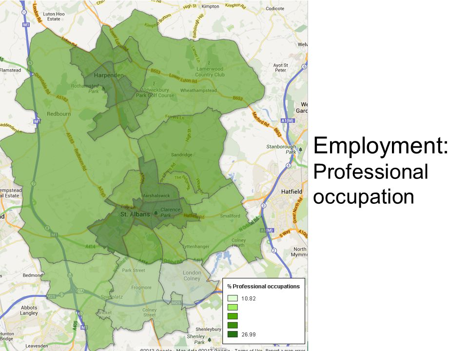 Employment: Professional occupation