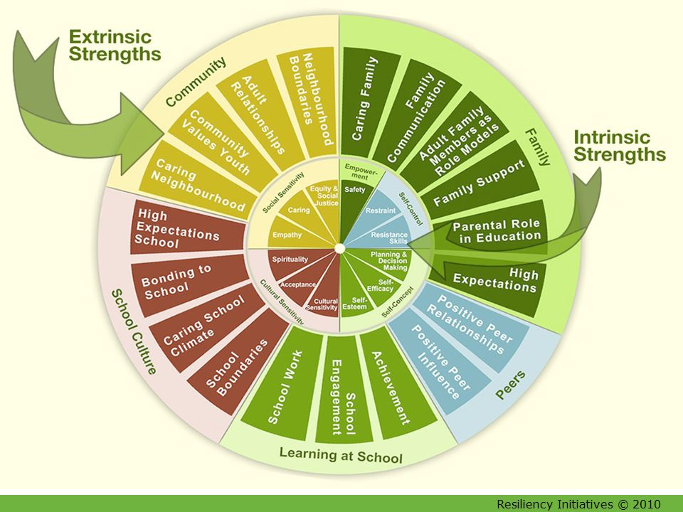 Resiliency Initiatives © 2010 21 Degree of Resilience