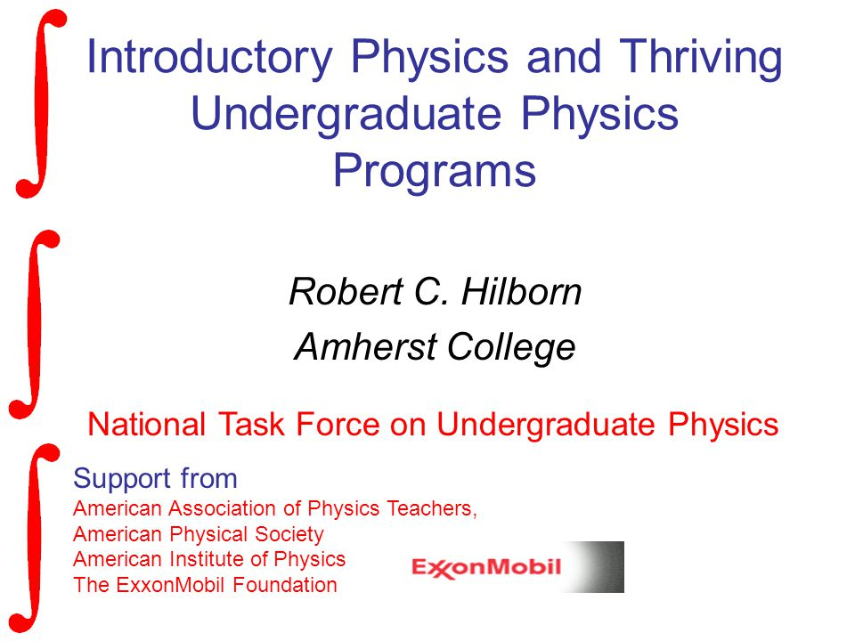 Introductory Physics and Thriving Undergraduate Physics Programs Robert C.