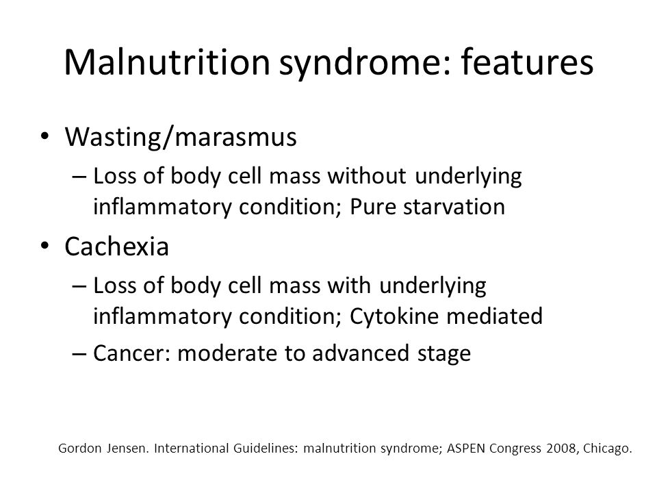 Malnutrition detection tools Nutrition screeningNutritional assessment
