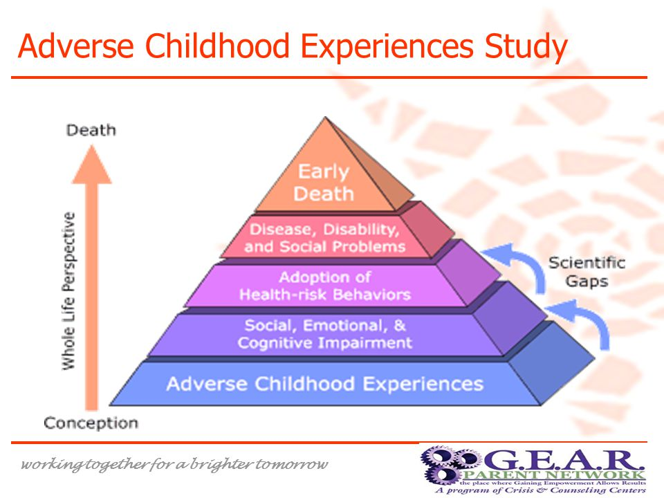 working together for a brighter tomorrow Adverse Childhood Experiences Study